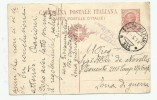 INTERO POSTALE ANNULLO POSTA MILITARE 111- 01.05.1918 - 1900-44 Vittorio Emanuele III