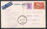 CPA AVIATION -  Carte Nouvel An AIR FRANCE - Ligne Mermoz - Aéropostale  - Traversée 75R - Potez 62 - 1919-1938: Entre Guerres