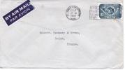 L-CAN 15 - CANADA N° 299 Congrès De L'U.P.U. Sur Lettre Par Avion Pour La France - 1952-.... Elizabeth II