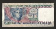 [CC] ITALIA - BANCA D' ITALIA - 50000 Volto Di Donna (Decr. 23 / 10 / 1978 - Firme: Baffi / Stevani) - [ 2] 1946-… : Repubblica