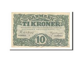 Danemark, 10 Kroner Type 1944-46 - Danemark