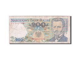 Pologne, 200 Zlotych, Type Jaroslaw Dabrowski - Polonia