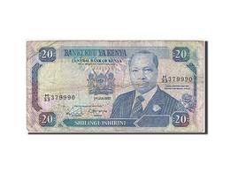 [#259897] Kenya, 20 Shillings, Type Président Daniel T. Arap Moi - Kenya