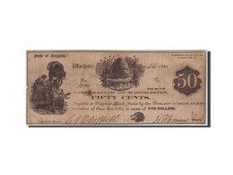 [#44783] Etats-Unis, Obsolètes, Virginia, Winchester, 50 Cents 24.6.1861 - Virginia