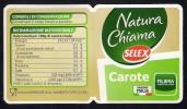 # CAROTE SELEX CARROT Tag Balise Etiqueta Anhänger Cartellino Karotte Carotte Vegetables Gemüse Legumes Verduras - Fruits & Vegetables