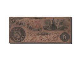 [#44670] Etats-Unis, Obsolètes, Pennsylvania, Bank Of Commerce, 5 Dollars 4.8.1858 - Collections