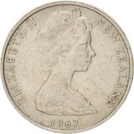 [#38374] Nouvelle-Zélande, Elizabeth II, 10 Cents, 1967, KM 35 - Nouvelle-Zélande