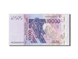 Afrique De L'Ouest, 10 000 Francs, Type 2003 - Banconote