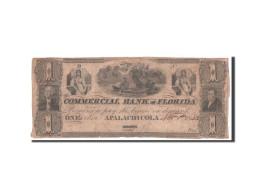 Etats-Unis, Obsolètes, Florida, Commercial Bank, 1 Dollar 1.11.1833 - Florida