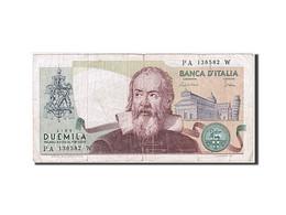 [#259772] Italie, 2000 Lire, Type Galilée - [ 2] 1946-… : République