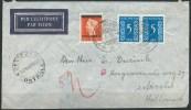 B.15.OCT.240 .   POSTSTUK  VERSTUURD  DOOR  INDONESIË.   1949.   DEVIEZEN-CENSUUR. - Indonesia