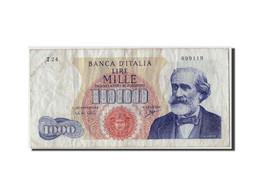 Italie, 1000 Lire Type Verdi - [ 2] 1946-… : République