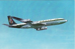 Aviation Postcard Olympic Airways Boeing 707 Aircraft 707-320 - 1946-....: Moderne