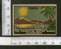 India Chandra Sun Nature Sence Safety Match Box Label # MBL58 - Matchbox Labels