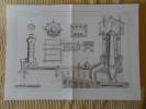 METALLURGIE DU ZINC _ TRAITEMENT AU HAUT FOURNEAU A CUVE PAR MM. MULLER ET LENCAUCHEZ Publication Industrielle Charvet - Tools