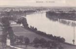 CPA 33 @ LIBOURNE @ Vue D'ensemble Et Du Fleuve Dordogne - Libourne
