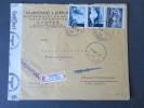 Kroatien 1943 MiF Zensurbeleg Nach Schloss Triebenbach / Oberbayern. Zagreb. Interessanter Beleg. Registered Letter - Kroatien