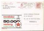 P944 -  Publibel Oblitérée Timbre Chiffre 2F Rouge N° 1931 CALTEX Assurance Auto - Publibels