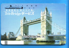 Japan Japon Telefonkarte T�l�carte Phonecard  - England London  Balken front bar 110 - 011