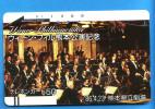 Japan Japon Telefonkarte T�l�carte Phonecard  -  Balken front bar 110 - 5655 Wiener Philharmoniker