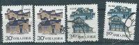 Cina 1986 Usato - Mi.2066 X2; 2071 X3 - Usati