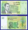 2002  MOROCCO  50 DIRHAMS  SERIAL No. ....705  KRAUSE 69 UNC. CONDITION - Maroc