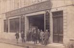CPA 33 @ LIBOURNE @ Carte Photo De La Société Générale - Banque Et Son Personnel En Octobre 1912 - Libourne