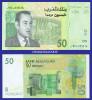2002  MOROCCO  50 DIRHAMS  SERIAL No. ....516  KRAUSE 69 UNC. CONDITION - Maroc