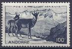 ANDORRA FRANCESA 1950 - Yvert #A-1 - MNH ** - Luftpost