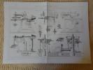MACHINES-OUTILS _ MACHINES A RABOTER ET A MORTAISER (Smith, Beacock, Tannett, Ducommun, Dubied) Publication Industrielle - Tools