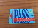 "Ticket de transport (Bus, Tramway) PASS Sub CGFTE ""TIK� PASS 1-2 ZONES"" Nancy (54) type 1"
