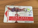 "Ticket de transport (Bus, Tramway) PASS Sub CGFTE ""TIK� PASS 1-2 ZONES"" Nancy (54) type 2 (vase 1903 �mile Gall�)"