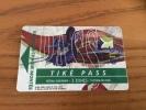 "Ticket de transport (Bus, Tramway) PASS Sub CGFTE ""TIK� PASS 3 ZONES"" Nancy (54) type 1 (vase 1903 �mile Gall�)"