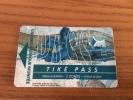 "Ticket de transport (Bus, Tramway) PASS Sub CGFTE ""TIK� PASS 3 ZONES"" Nancy (54) type 4 (vase 1903 �mile Gall�)"
