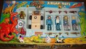 RARE,VINTAGE Boite AIRGAM BOYS Série SPACE De 1982 - Figurines
