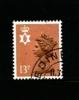 GREAT BRITAIN - 1984  NORTHERN IRELAND  13p. LB  Type II  FINE USED  SG NI37Ea - Irlande Du Nord