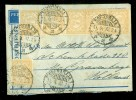 LUCHTPOST * NEDERLANDS-INDIE BRIEFOMSLAG Uit 1932 Van SOERABAYA Naar ´s-GRAVENHAGE * 7 X 7 1/2 Ct (9959i) - Indes Néerlandaises