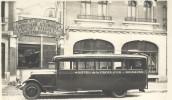 Petit Bus De L'HOTEL DE LA CROIX D'OR DE SOISSONS - Buses & Coaches