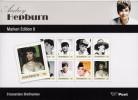 Map  Aurey Hepburn Met 8 Excl Zegels - Cinema