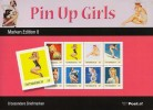 Map Pin Up Girls Met 8 Excl Zegels - Autriche