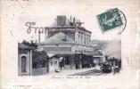 (27) Bernay - Quai De La Gare - Train Tren Locomotive - En L'état - 2 SCANS - Bernay