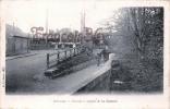 (27) Bernay - Passage à Niveau De La Couture - Train Tren Locomotive - 2 SCANS - Bernay