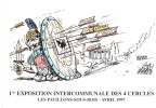 CPM TIR A LA RC LEGIONNAIRE EXPOSITION INTERCOMMUNALE DES 4 CERCLES LES PAVILLONS SOUS BOIS - Tir à L'Arc