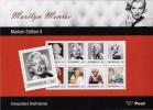 Map Marilyn Monroe Met 8 Exkl. Zegels - Autriche