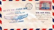 New York 1930 Sondermarke Und Sonderstempel Auf FP-Brief - Vereinigte Staaten
