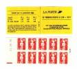 Carnet Briat 2fr30 Rouge YT 2630-C2 Avec Aristo : Repère électronique Rouge à Gauche + Date . Superbe , Voir Le Scan . - Carnets