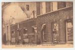 Poperinge, Poperinghe, afgebrande huizen der Bruggestraat, Ruinen Ruines, oorlog 1914 1915 (pk23904)