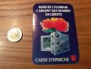 """AUTOCOLLANT, Sticker """"BONS DE L'ECUREUIL L'ARGENT QUI GRANDIT EN LIBERTÉ - CAISSE D'EPARGNE"""" - Autocollants"""