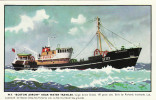 Postcard Near Water Trawler MT Boston Arrow Fishing Boat Ship Deep Sea Fisheries - Fishing Boats