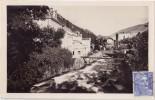 """CPSM - AX LES THERMES (09) - Etablissement Thermal """"le Teich"""" Au Bord De L'Ariège - 1949 - Ax Les Thermes"""